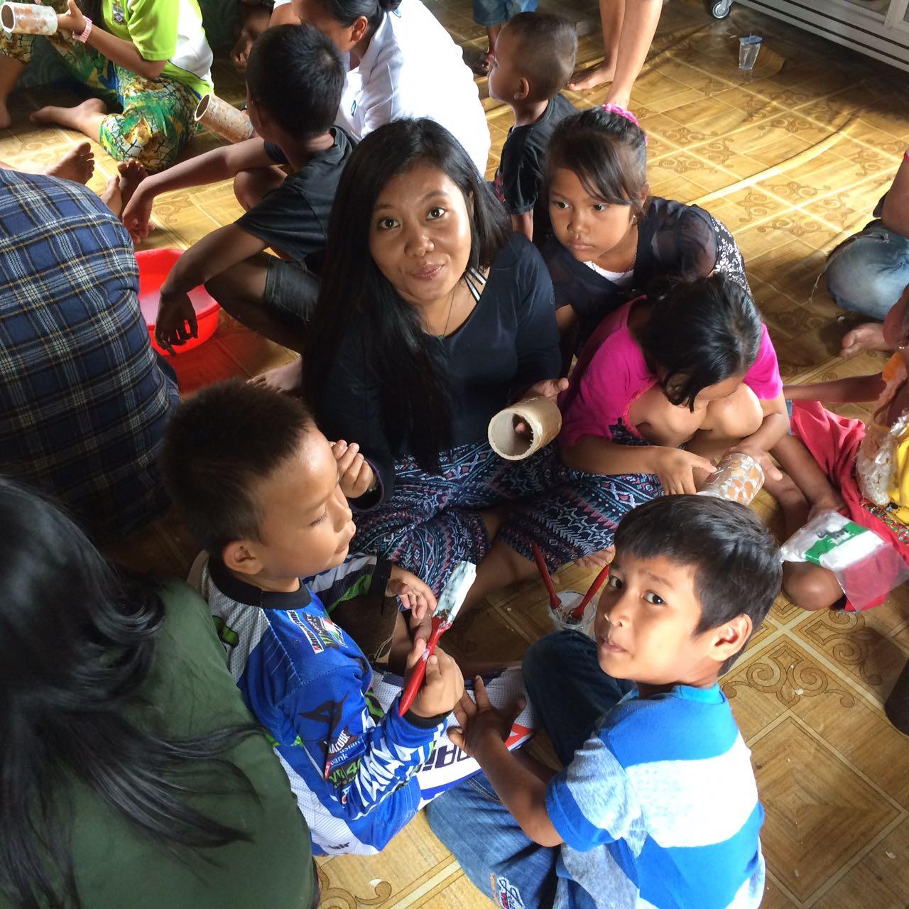 Community development: education programme project on-line