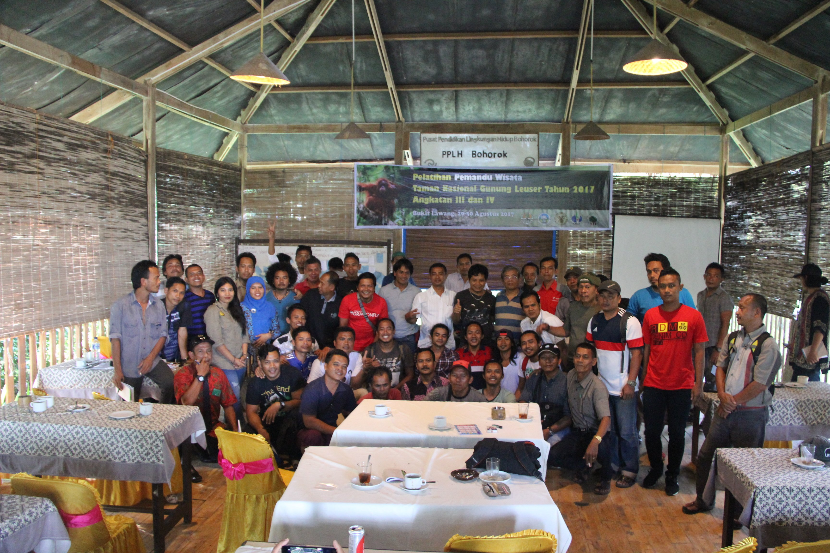 Professional Training for Guides in Bukit Lawang