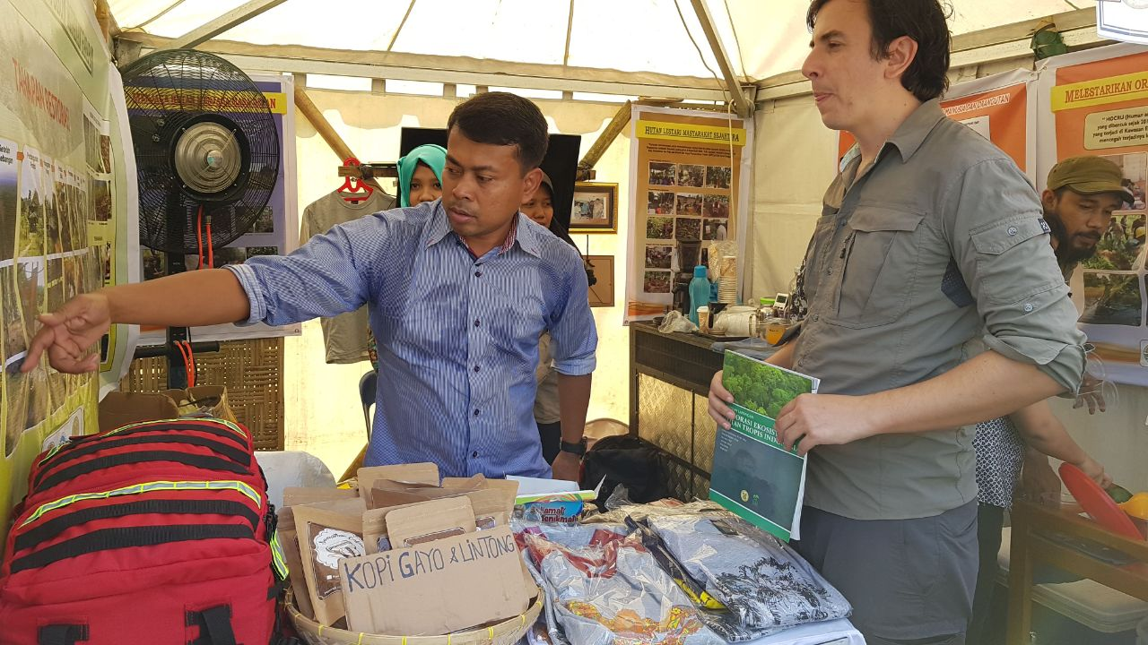OIC's Booth in North Sumatran Conservation Expo