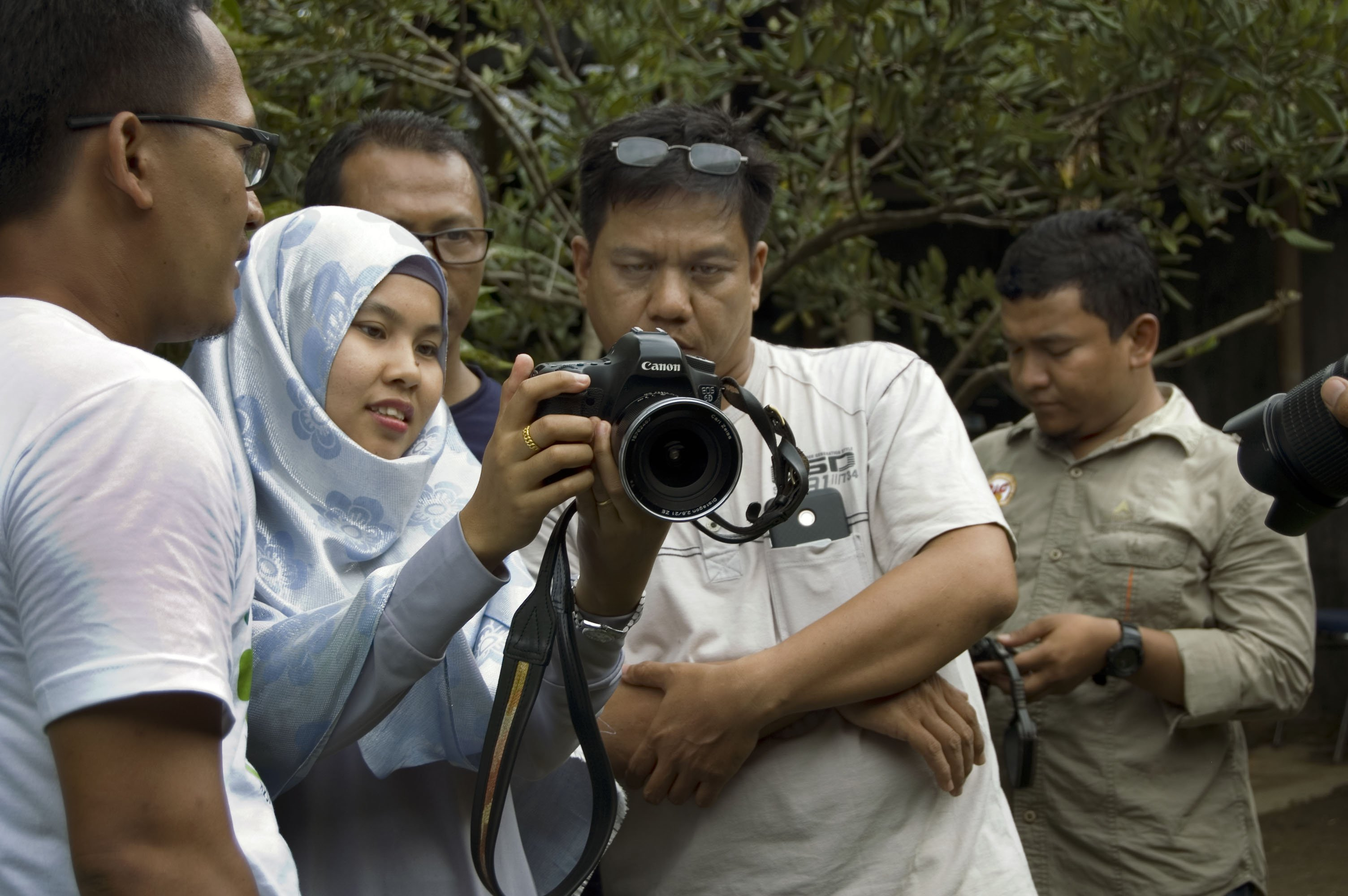 Photography Training for OIC staff