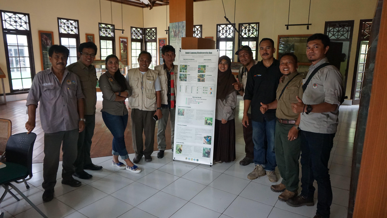 Biodiversity App training to Bukit Lawang Guides