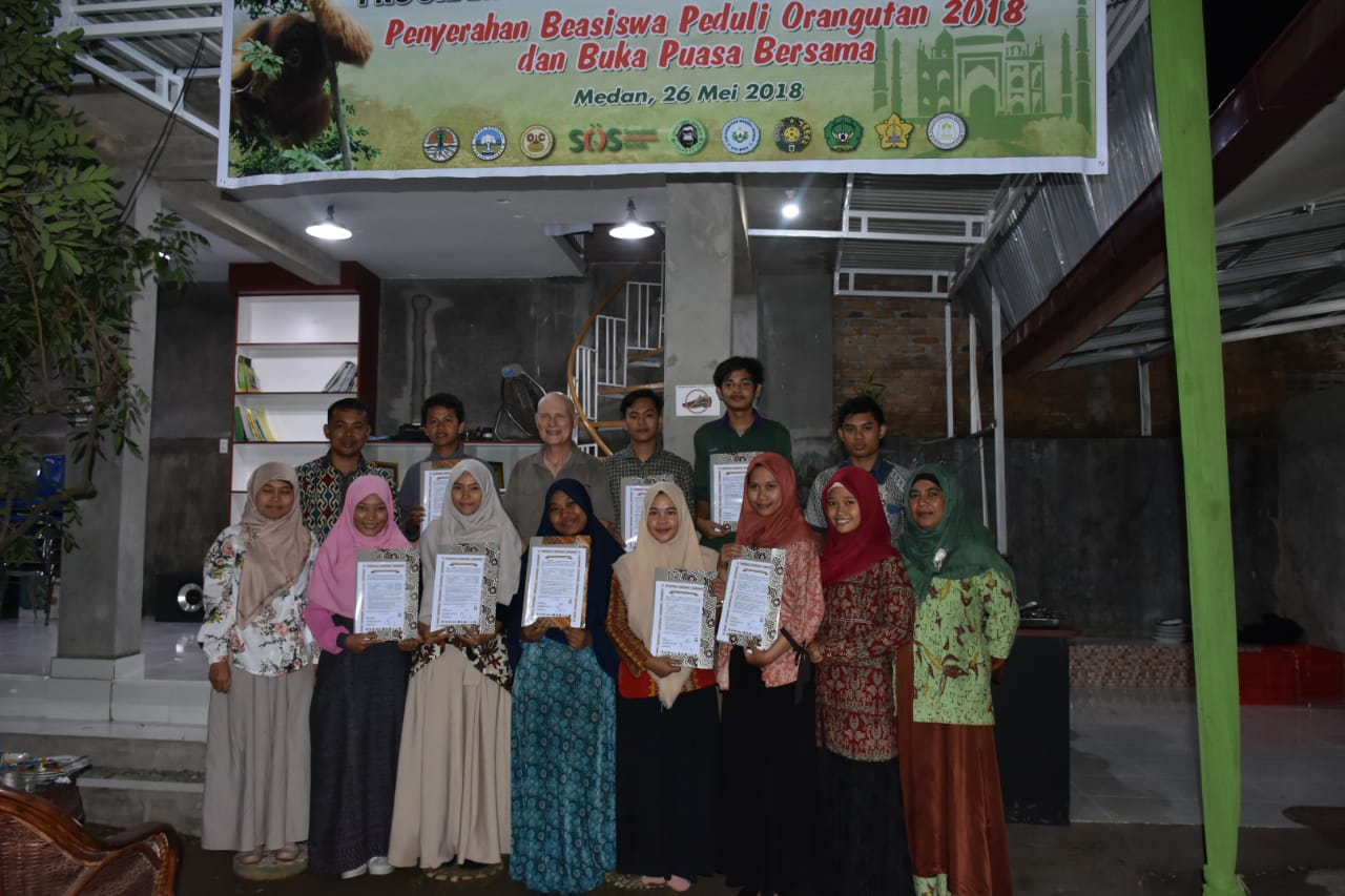Orangutan Caring Scholarship 2018