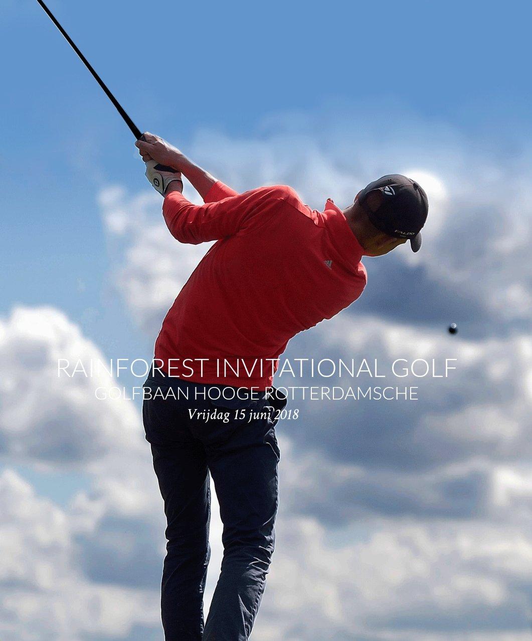 Rainforest Invitational Golf Tournament 2018